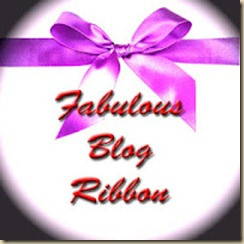 Fabulous Blogger Ribbon